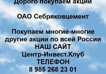 Покупка акций ОАО Себряковцемент