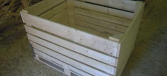 производим и продаём деревянные контейнеры для хранения овощей и фруктов