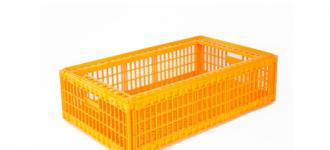 Ящик пластиковый для перевозки живой птицы без крышки, Санкт-Петербург